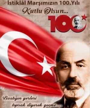 İstiklâl Marşı'nın Kabulünün 100. Yılı